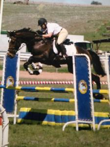 Gail Quirindi 2003 on King his first show
