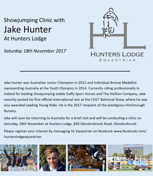 Jake clinic 2017